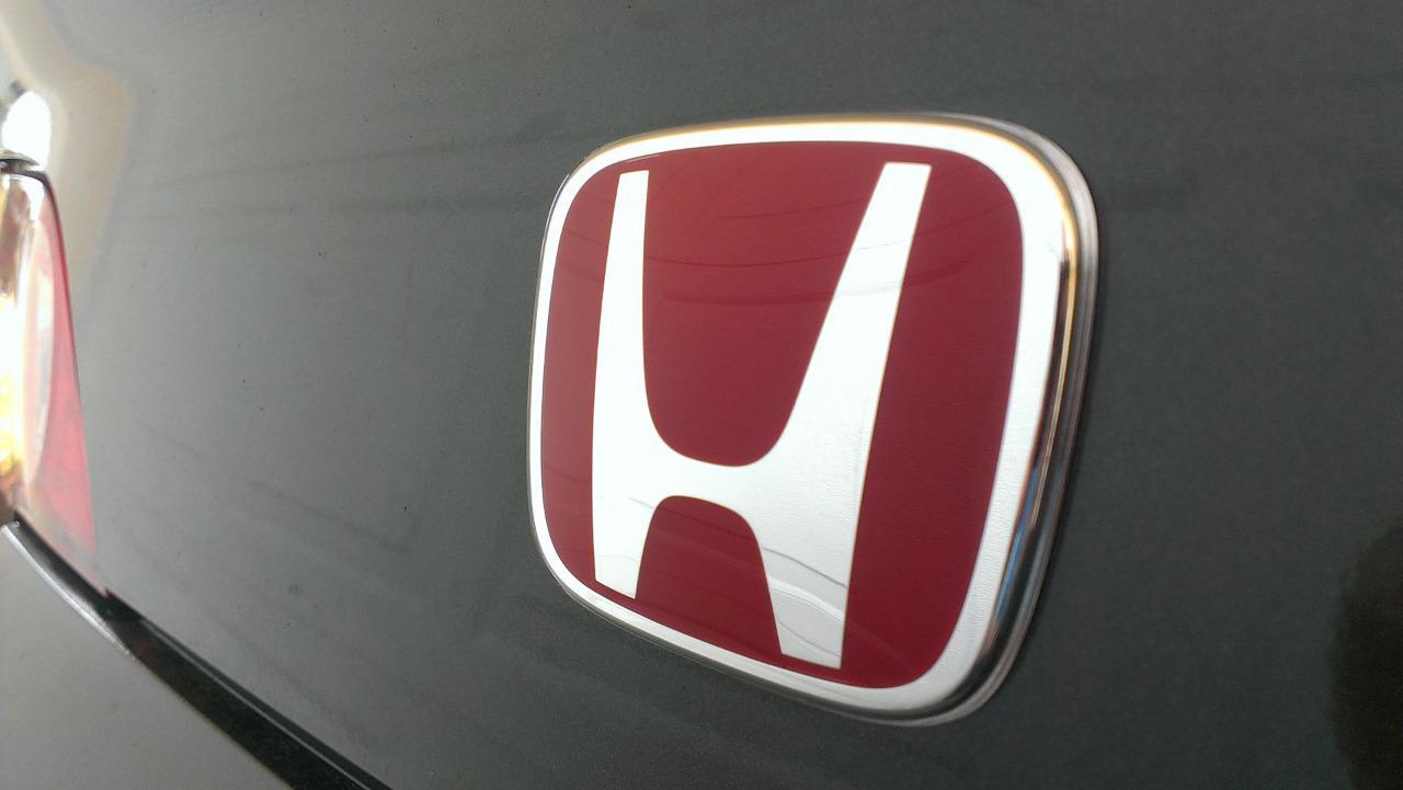 3PCS SET Red H Emblem 08 15 HONDA ACCORD SEDAN 4Dr Front