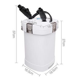 Aquarium external canister filter aqua fish water tank for Pond pump filter sponge