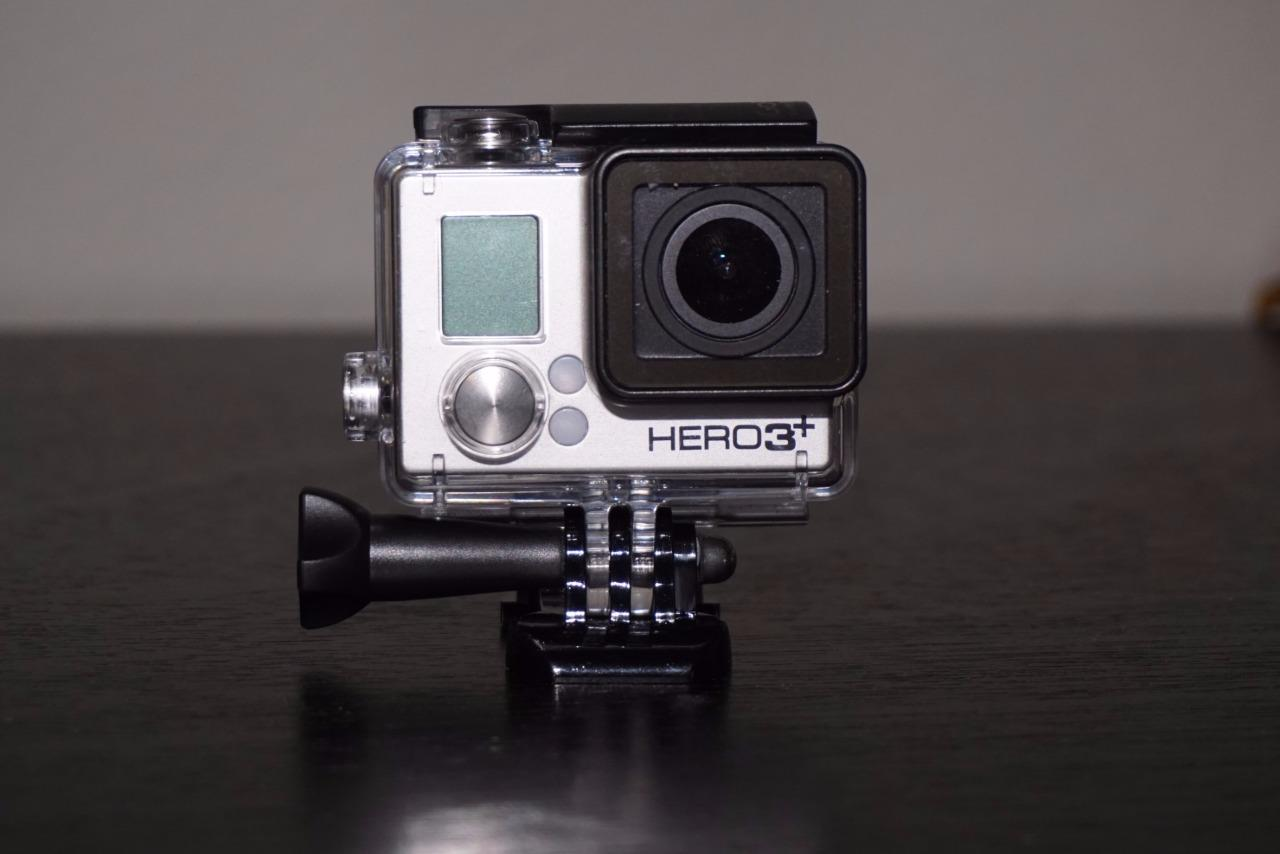 gopro hero3 camcorder black edition hero 3 plus ebay. Black Bedroom Furniture Sets. Home Design Ideas