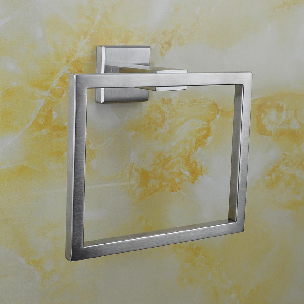 Sus 304 stainless steel bath towel ring towel holder hand for Bathroom hand towel holder