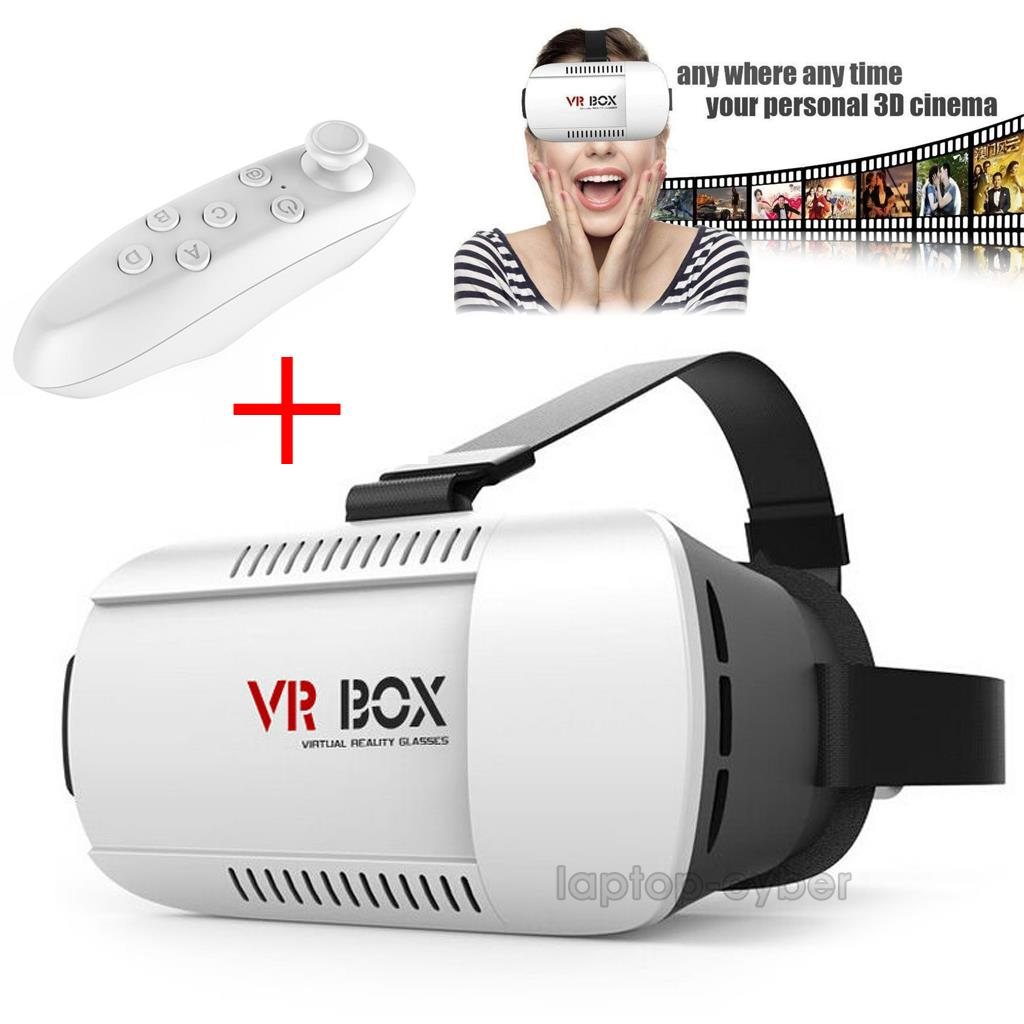 3d glasses vr box headset google cardboard virtual reality bluetooth control us ebay. Black Bedroom Furniture Sets. Home Design Ideas