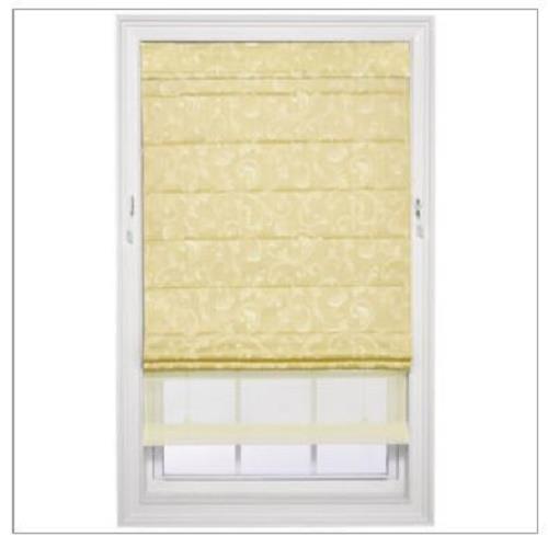 Double Roman Shade On Window : New jcpenney home custom spencer double roman shade window