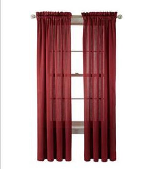 New Royal Velvet Hilton Rod Pocket Curtain Panel Treatment 7314192 Ebay