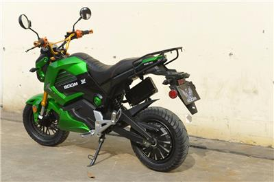 boom 2000w electric moped scooter 578z green ebay. Black Bedroom Furniture Sets. Home Design Ideas