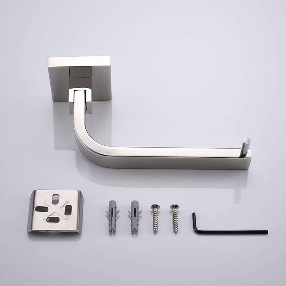 wall mount stainless steel toilet roll paper holder bathroom towel