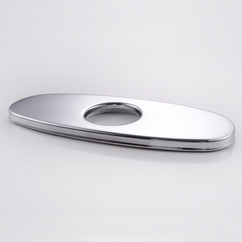 10-Inch Bathroom Or Kitchen Sink Faucet Hole Cover Deck
