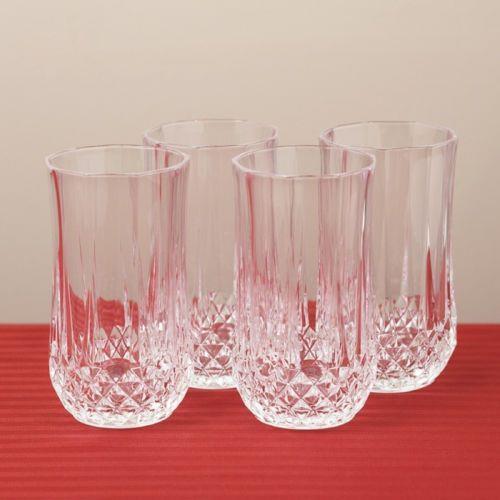 Crystal Highball Glasses Set Of