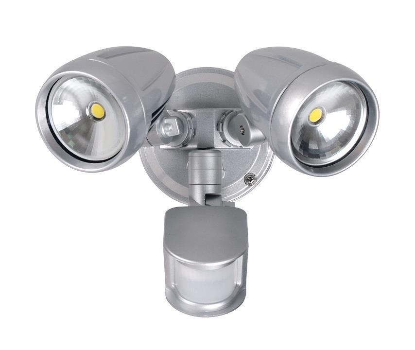 Double Insulated Outdoor Security Lights: PHL 30W CREE LED OUTDOOR EXTERIOR TWIN DOUBLE SPOT FLOOD