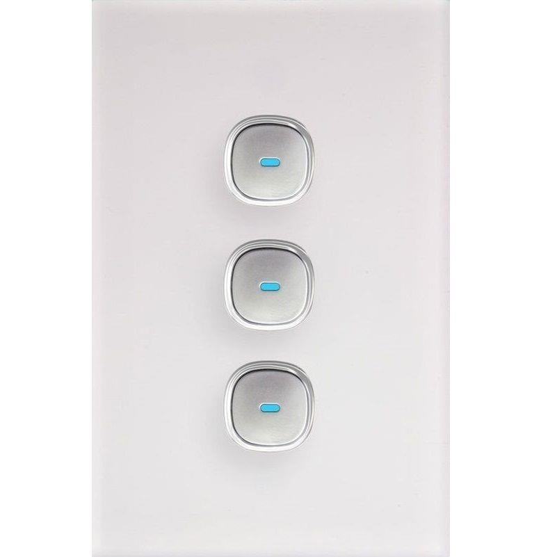 New Opal Push Button Touch Led Saturn Light Switch Power