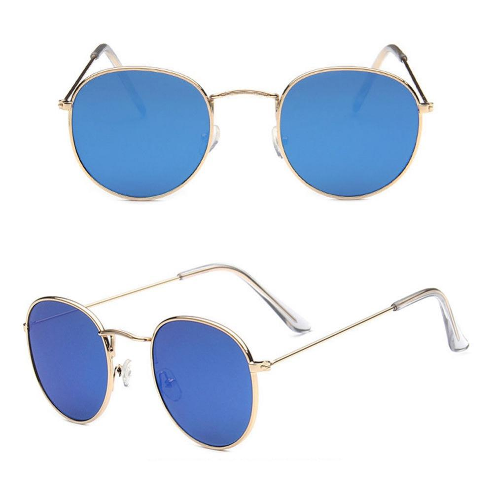 Fashion Women Aviator Mirror Lens Steampunk Sunglasses ...