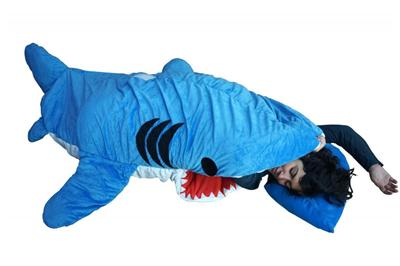 adult giant handmade shark sleeping bag designer plush figure ebay