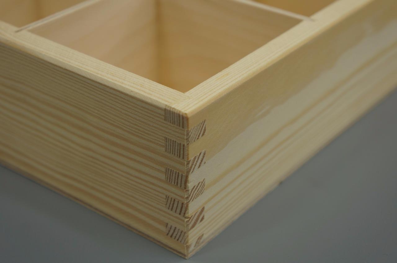 30er f cher holzkiste ohne deckel aufbewahrungsbox decoupage organizer sammler ebay. Black Bedroom Furniture Sets. Home Design Ideas