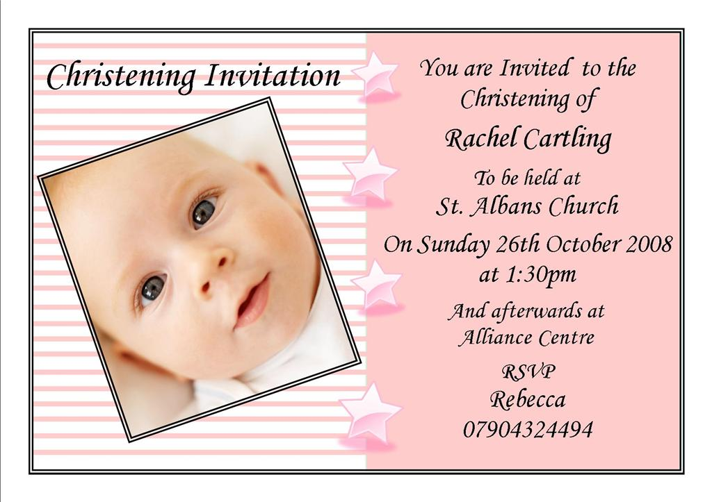 Personalised Twin 39 S Christening Invitations By Made By Baptism