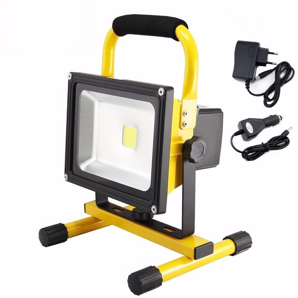 20w led akku fluter warmwei strahler handlampe ip65 arbeitsleuchte baustrahler. Black Bedroom Furniture Sets. Home Design Ideas