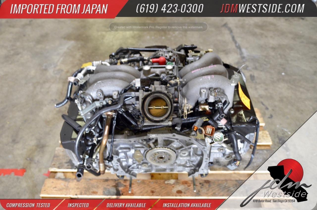 Jdm 2000 2001 2002 Subaru Legacy Outback Ez30 Engine Lancaster H6 3 0l Flat6