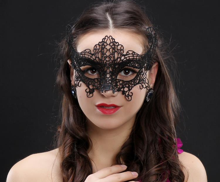 Ladies Fashion Sexy Lace Mask Theme Dance Parties Mask