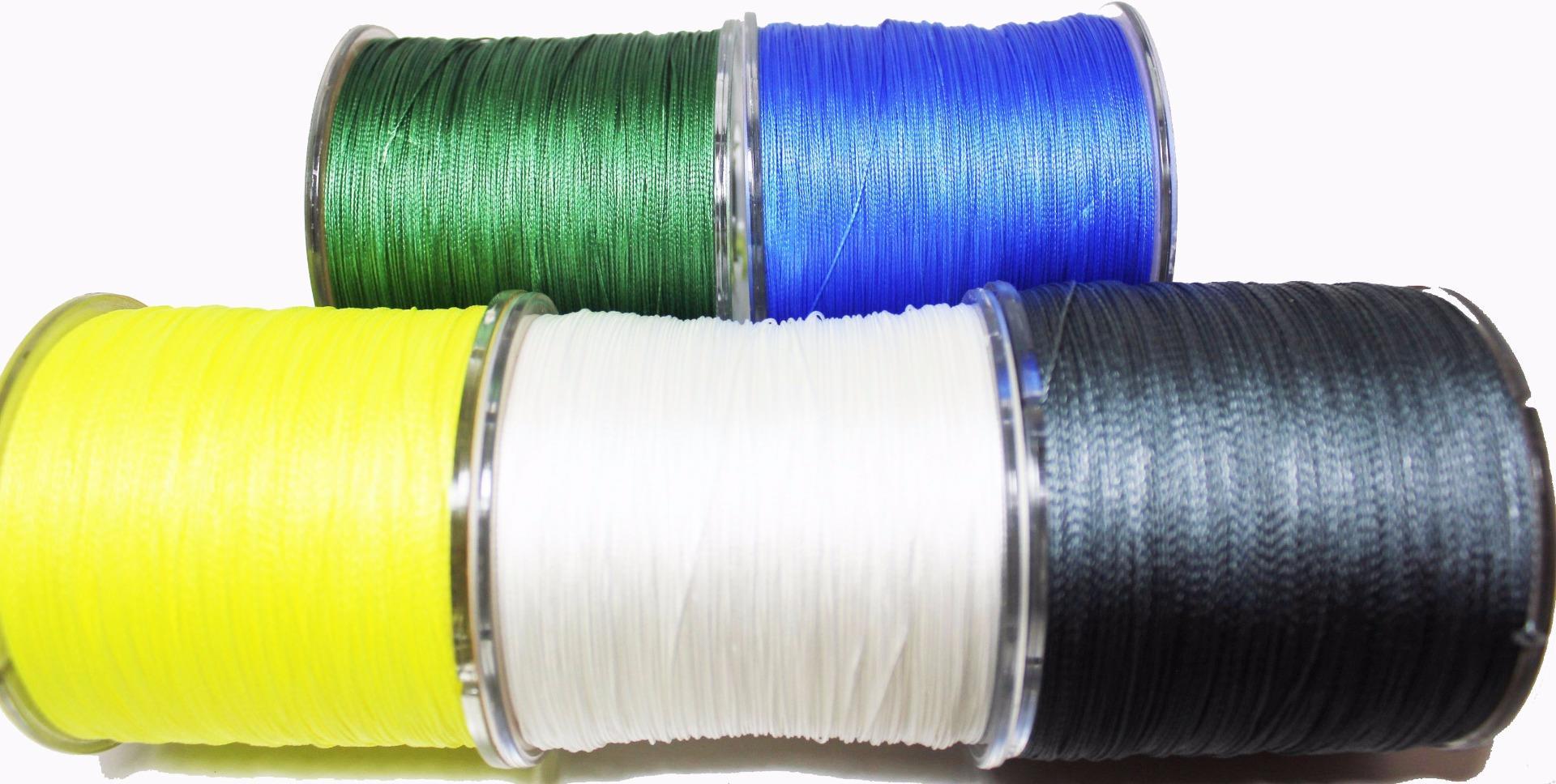 Pe 4 strand braid fishing line 50lb 500m blue power braid for 50 lb braided fishing line
