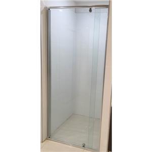 1000 1950mmsemi frameless wall to wall pivot door shower for 1000 pivot shower door