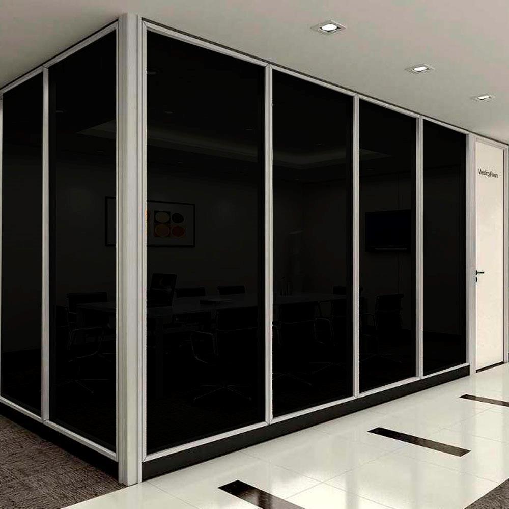 Decorative non reflective window glass film solar tint for Window privacy options