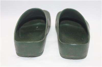 Birkenstock Women039s Green Ges Gesch Rubber Mule Clogs Slip On