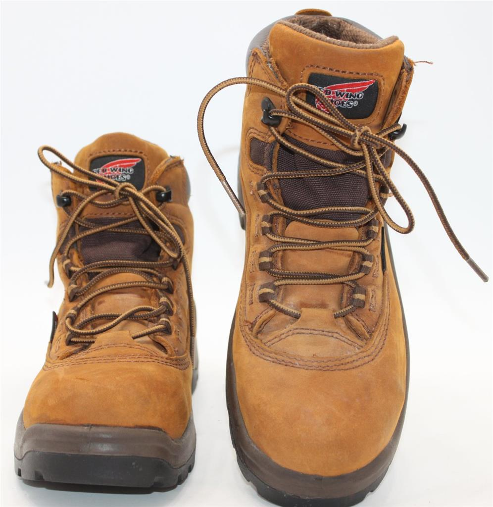 Excellent Womenu0026#39;s 2327 Electrical Hazard Waterproof Steel Toe FlexBond 5-inch Boot | Red Wing Work Boots