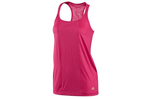 Ladies-ADIDAS-Climacool-Bright-Pink-Tank-racer-built-in-support-sz-16-BRAND-NEW
