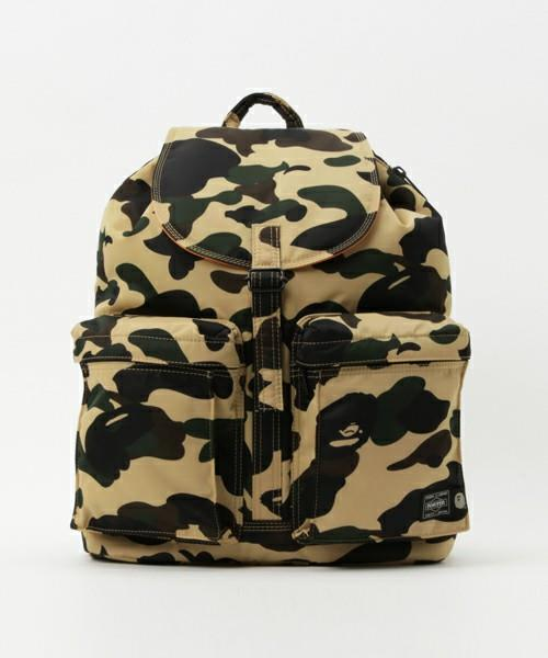 A bathing ape porter 1st camo backpack day pack rucksack m for Bape x porter backpack