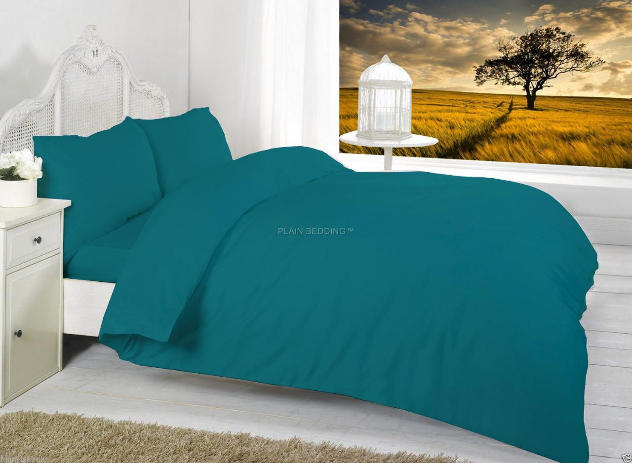 Designer Plain Bedding Plain Colours Duvet Cover Sets