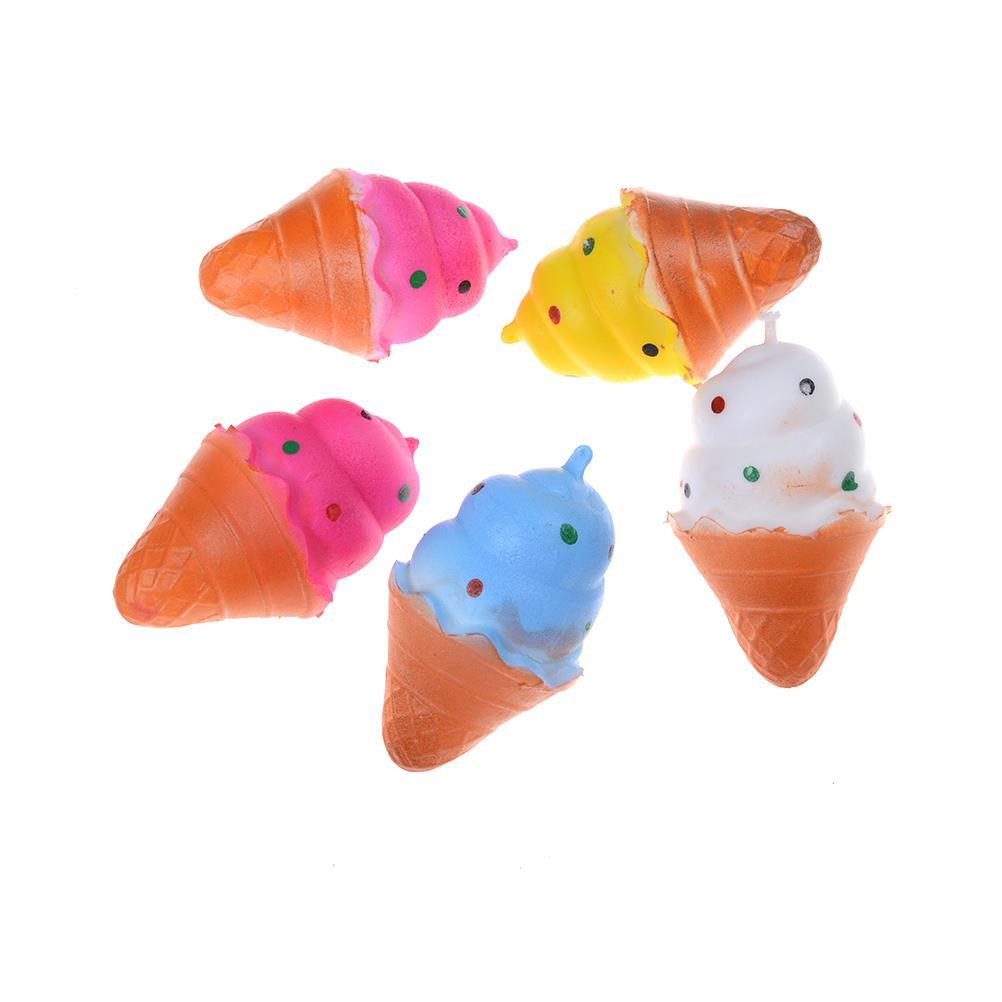 Squishy Mushy Squishies : Soft Kawaii Squishy Squishies Mini Ice Cream Keychain Charm Strap New wk eBay