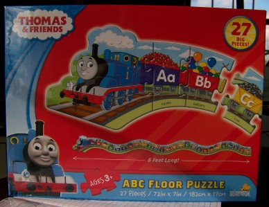 Thomas Amp Friends Alphabet Abc Train Floor Puzzle Nib 27