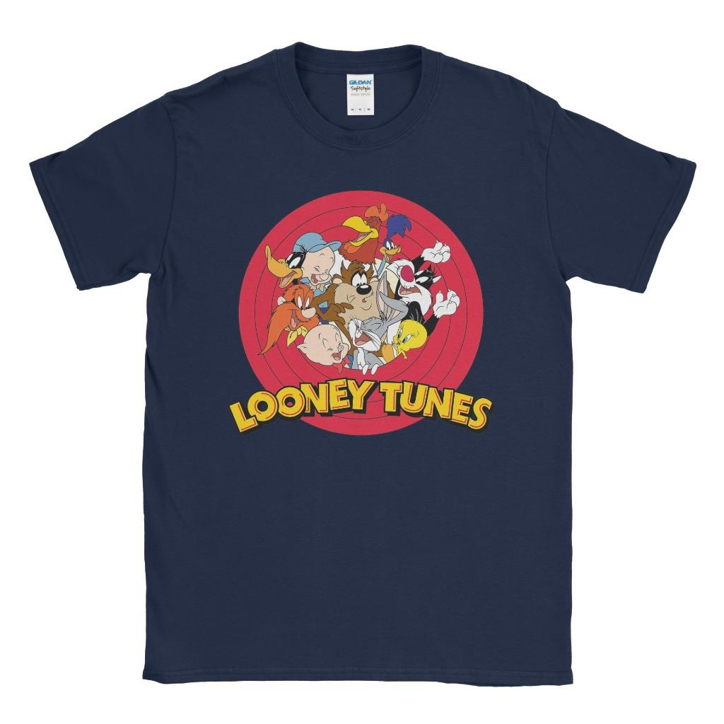 Looney Tunes T-Shirts. Looney Tunes is an animated television series from Warner Bros. Looney Tunes was first introduced in the 's. The musical characters were Bosko and Buddy, but the Looney Tunes films featured Daffy Duck, Porky Pig, Sylvester, Tweety, Elmer Fudd, Bugs Bunny, Wile E. Coyote, and The Road Runner/5().