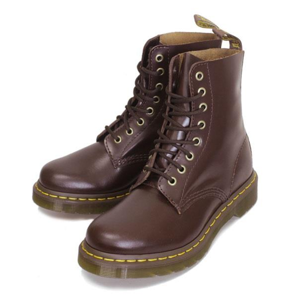 doc martens brown airwair bouncing sole buttero leather