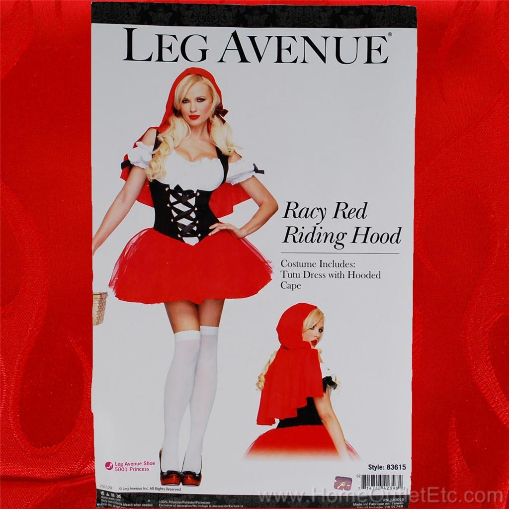 Womens-Sexy-Racy-Red-Riding-Hood-Little-Lil-Hot-Leg-Avenue-83615-Adult-Halloween