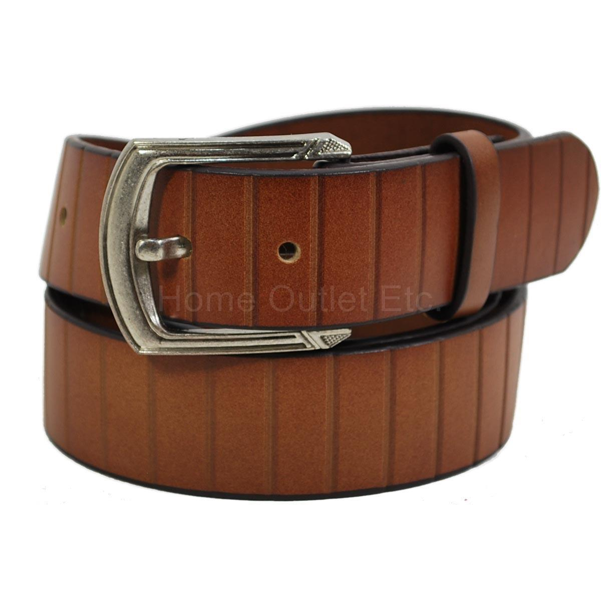 100 solid cowhide leather belt snap on removable buckle