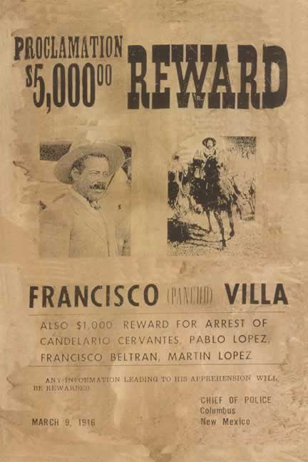 ... of Mexican Revolutionary leader Francisco (Pancho) Villa in 1916