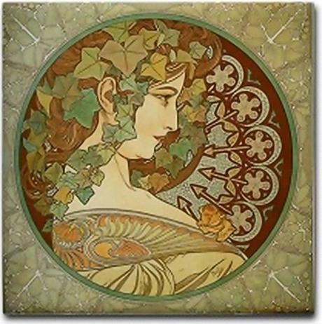 Art Nouveau Posters. of an Art Nouveau poster