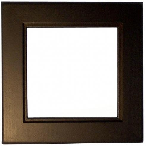 Black Stain Trivet Frame For 6 Ceramic Tiles Wood Wall Ebay