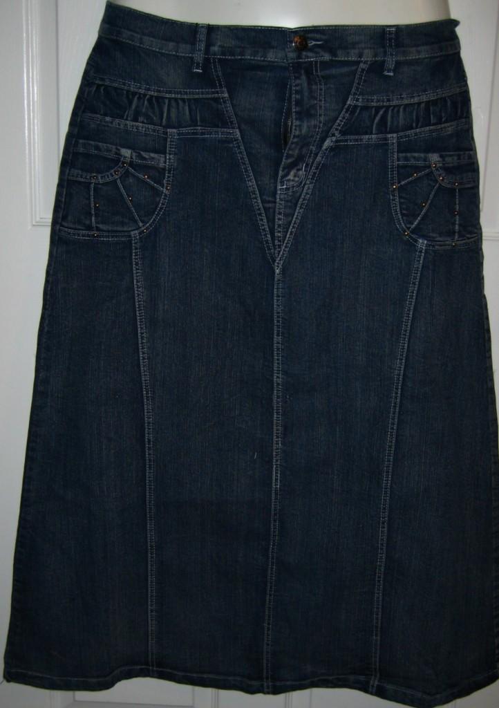 womans plus size acid washed denim skirt sz 1x new ebay