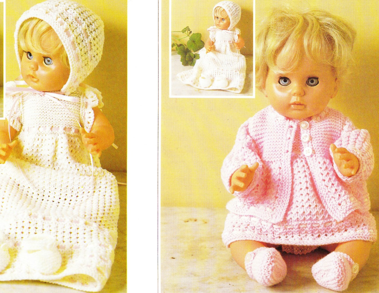 Free Baby Dolls Clothes Knitting Patterns Choice Image - handicraft ...