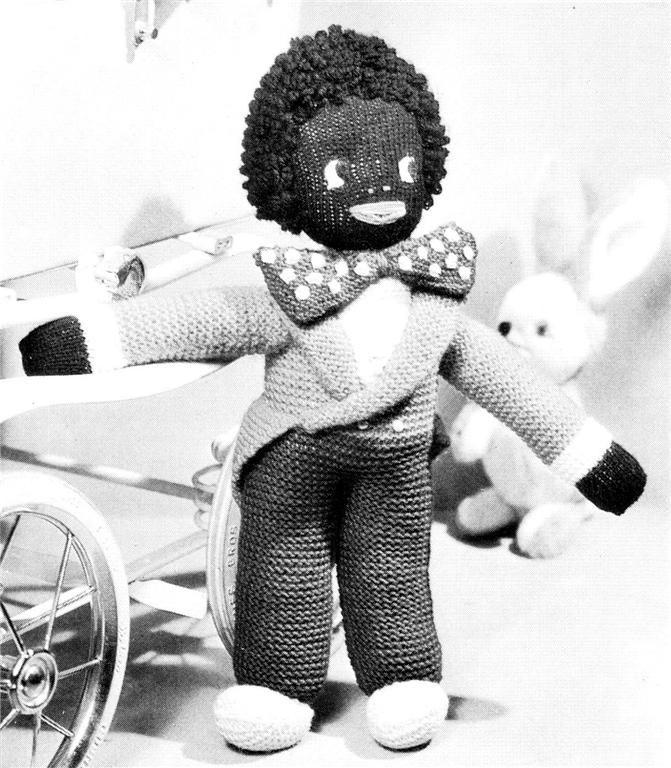 Free Golly Knitting Patterns : VINTAGE GOLLIWOG / GOLLY 17