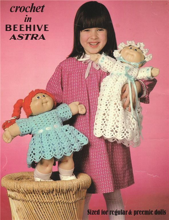 Cabbage Patch Preemie Doll Doll Crochet Pattern Ebay
