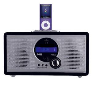 technika ipod docking with dab fm radio plus alarm. Black Bedroom Furniture Sets. Home Design Ideas