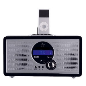 technika ipod docking with dab fm radio plus alarm. Black Bedroom Furniture Sets. Home Design Ideas