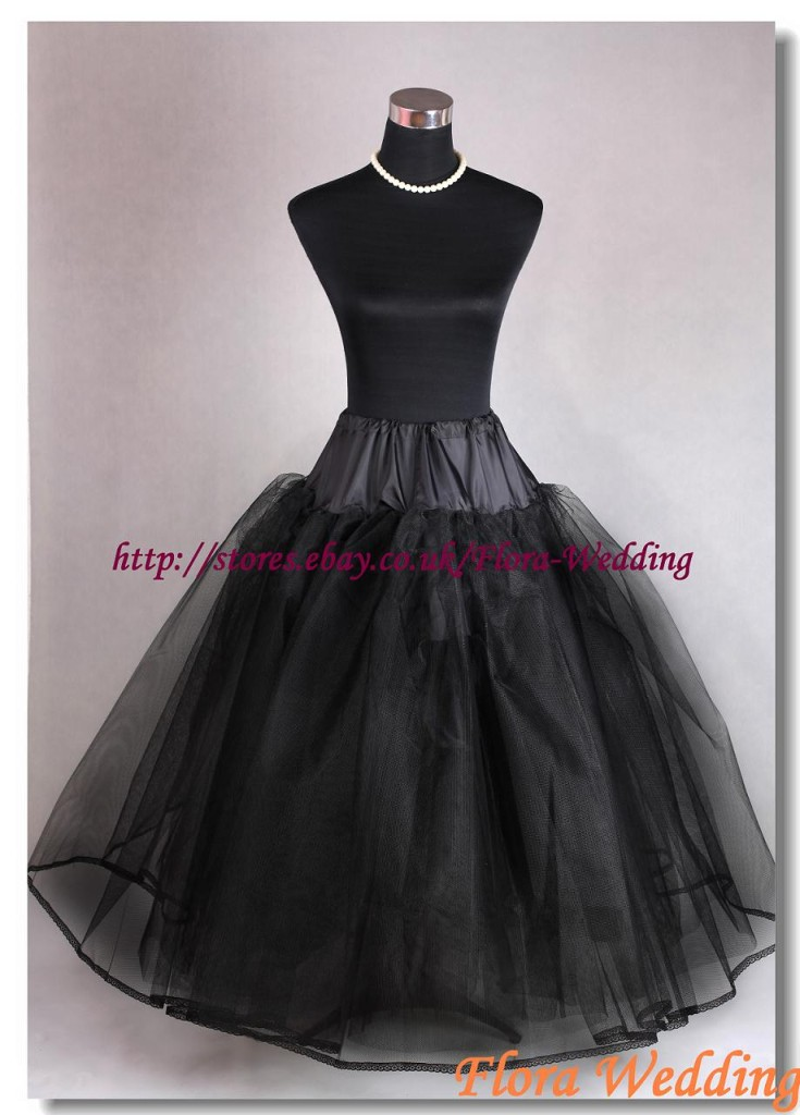 LAYERS-NET-HOOPLESS-WEDDING-UNDERSKIRT-PROM-PETTICOAT