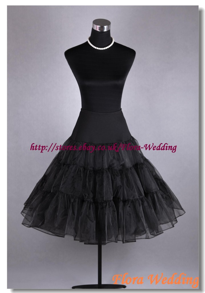 27-L-SWING-1950s-SKIRT-ROCK-n-ROLL-TUTU-PROM-PETTICOAT
