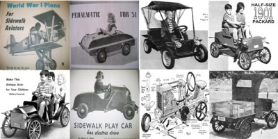 Pedal Car Plans Free http://www.ebay.com/itm/8-VINTAGE-AIRPLANE-PEDAL-CAR-SIDEWALK-TRACTOR-PLANS-13S-/251154613007