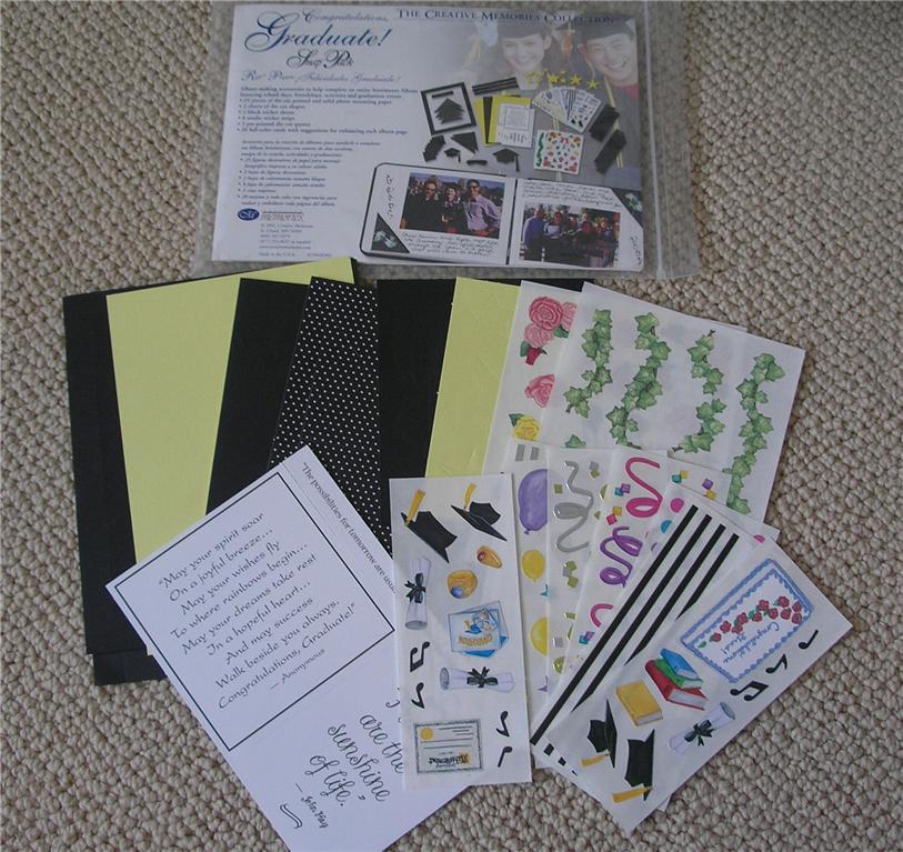 NEW-Creative-Memories-5x7-or-7x7-Snap-Pack-Kit-U-PICK