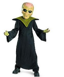 Boys evil alien outer space costume dress up size 4 5 6 for Outer space outfit