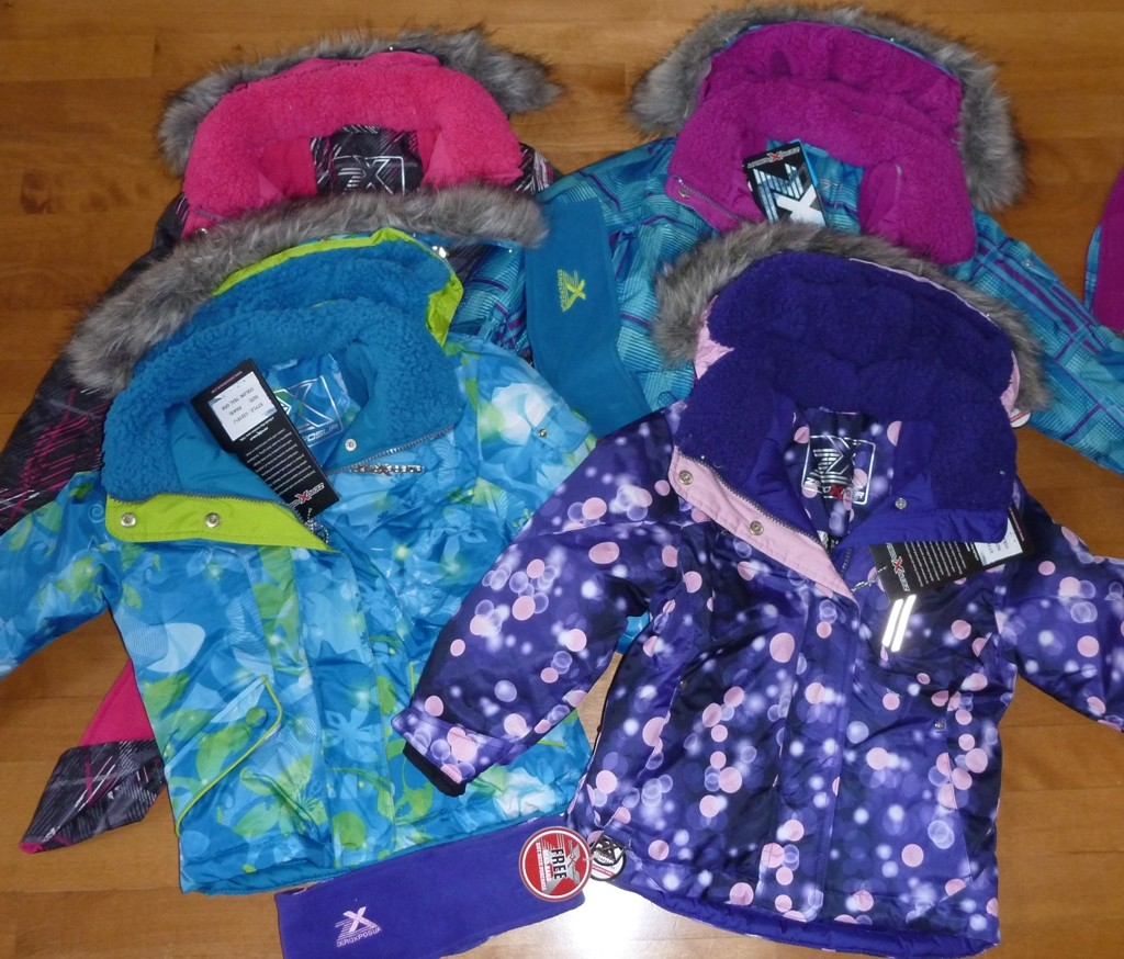 Girls Zeroxposur Winter Coat Ski Jacket Size Xs 4 5 Purple