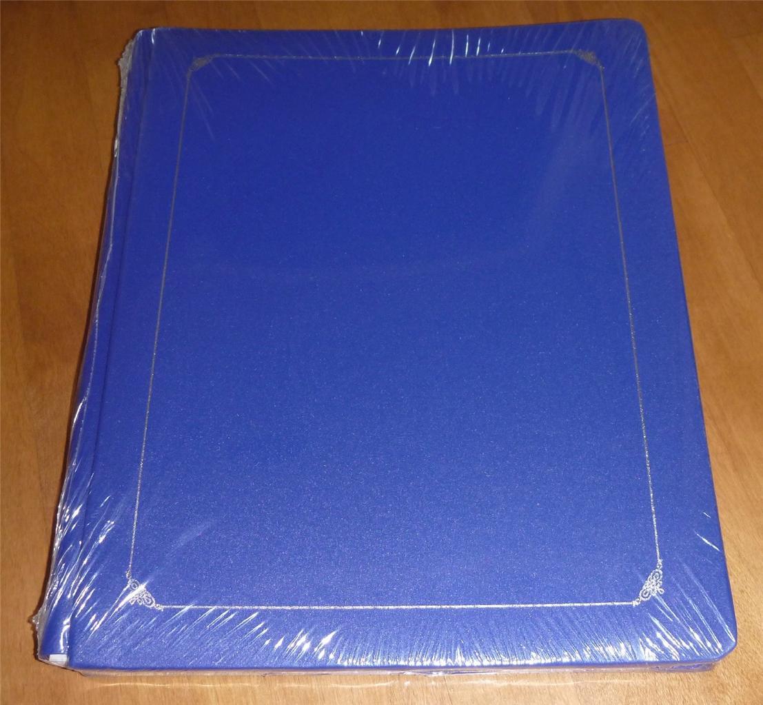 Creative-Memories-12-x-15-Scrapbook-Album-pages-TEAL-SAPPHIRE-NAVY-or-EVERGREEN